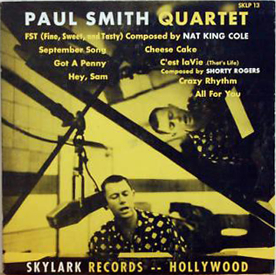 Paul Smith Quartet 1954